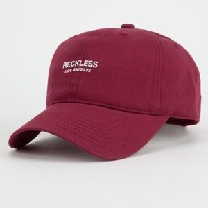 size 40 eada1 54de0 Young   Reckless Y R maroon red women dad hat cap